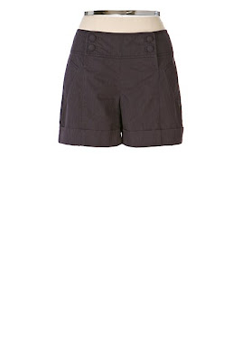 Anthropologie Button-front Short-shorts