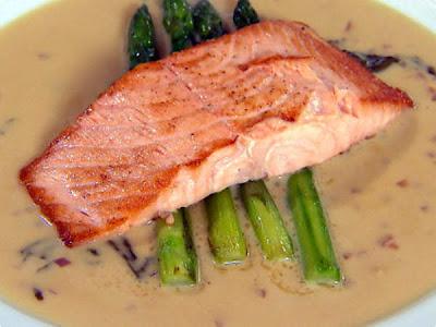 Escalope de salmão
