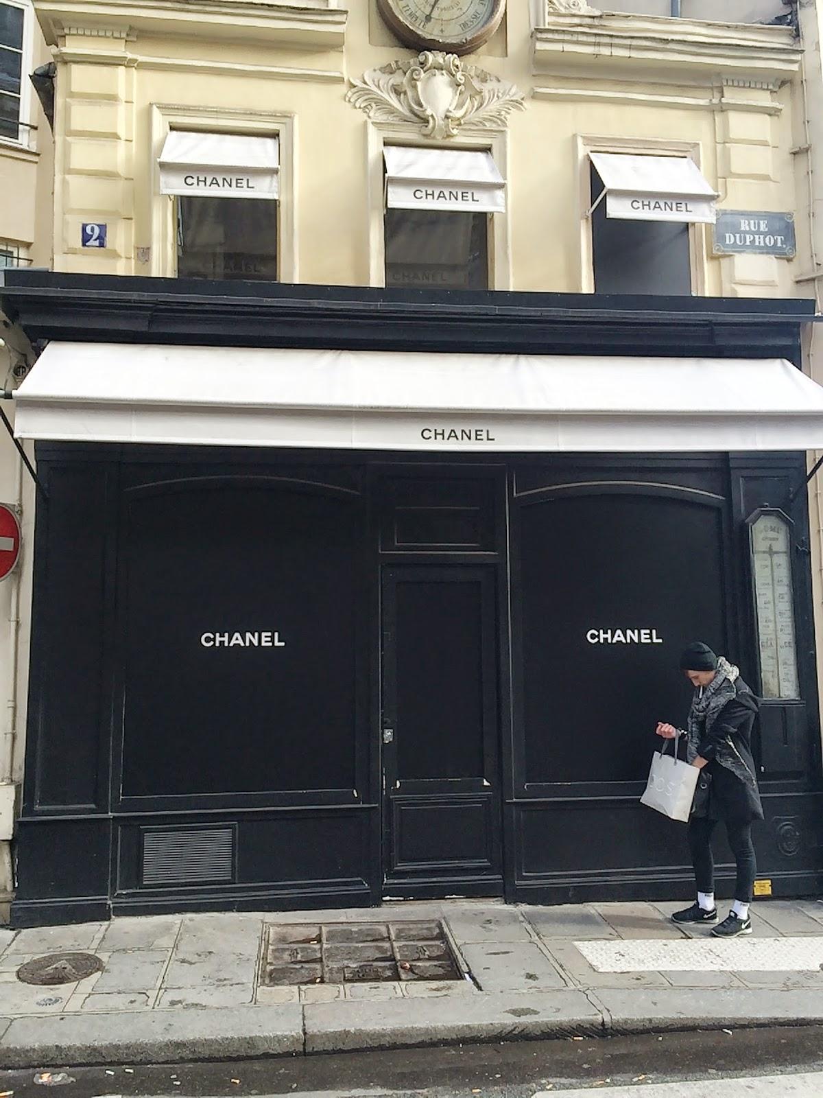Tienda Chanel París