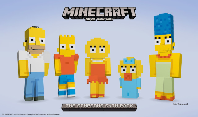 Minecraft Simpson Skin Pack