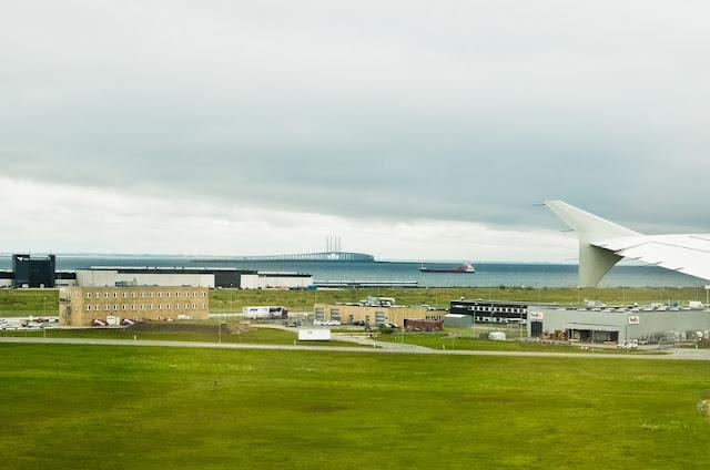 foto aerea aeropuerto copenhaguen Kastrup