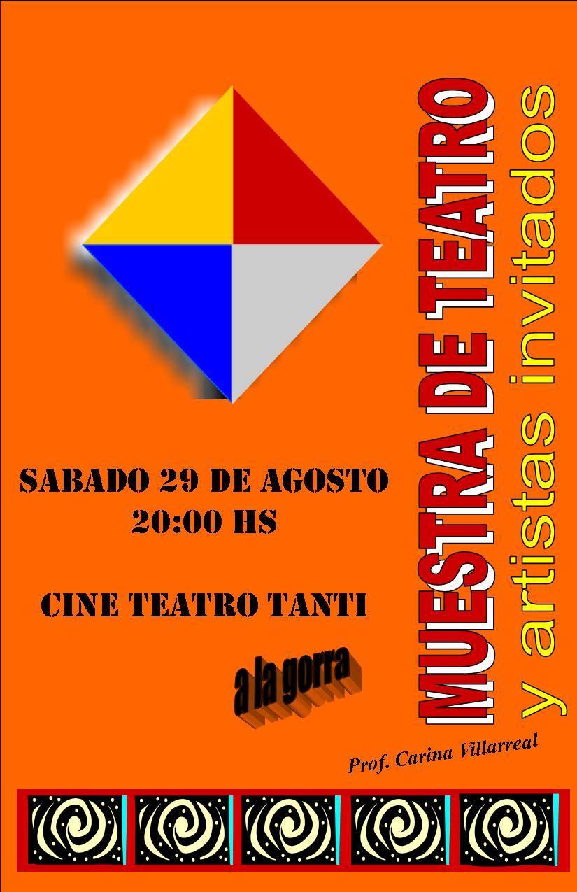29 de agosto. Teatro