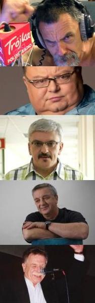magicy muzycznego radia: Ossowski, Mann, Niedźwiecki, Kosiński, Kaczkowski