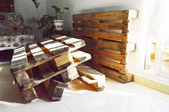 C mo hacer un sof de pallets - Hacer sofa palets ...