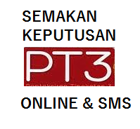 Semakan Keputusan result PT3 2014