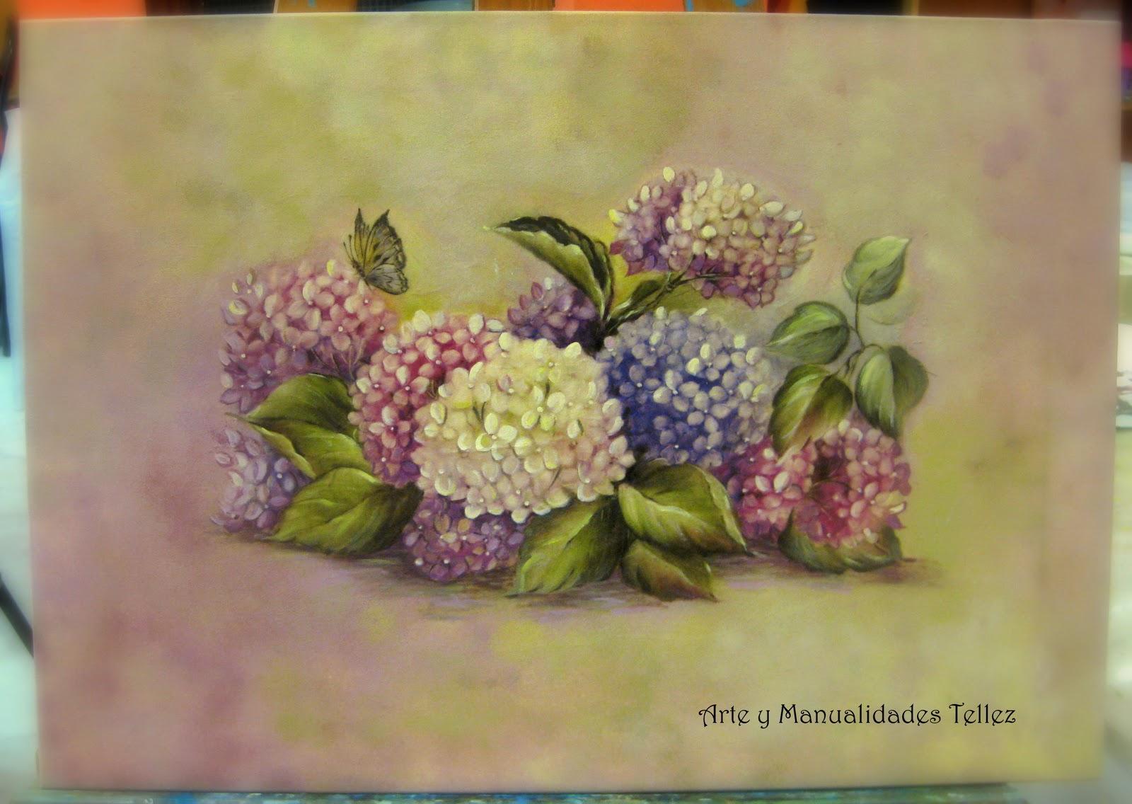 Arte y manualidades tellez cuadro con papel y acrilicos - Adornos para fotos gratis ...