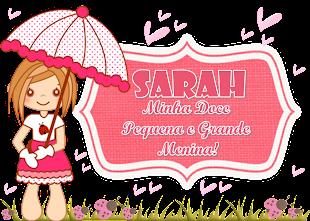 Visitem o cantinho da minha princesa Sarah...