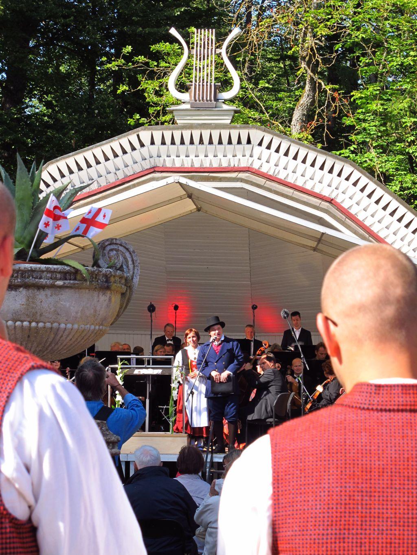 Opening of opera paevad in Kuressaare, Saaremaa, Estonia. Photo by susan wellington