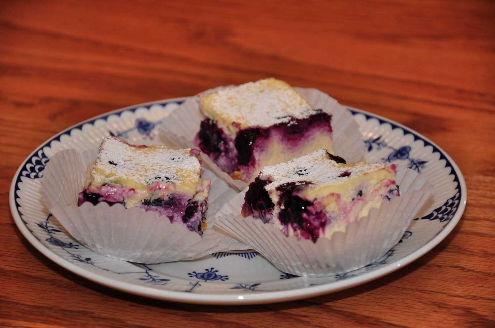 Tyler Florence Cheesecake the changeable table: lemon blueberry cheesecake bars
