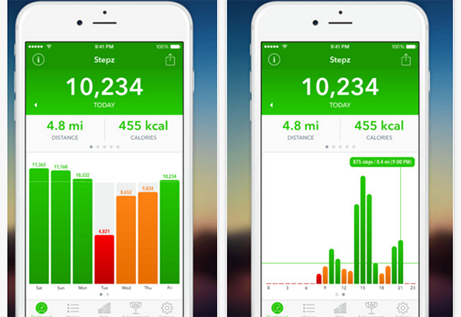 Best iPhone pedometer app