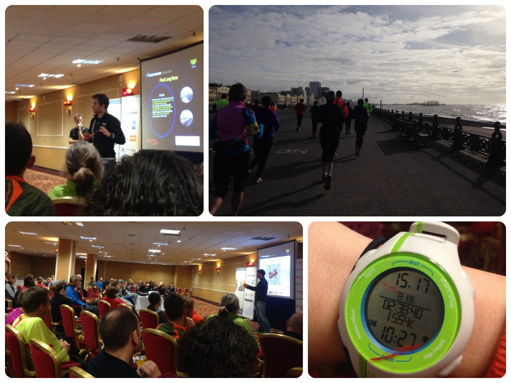 Brighton marathon training day