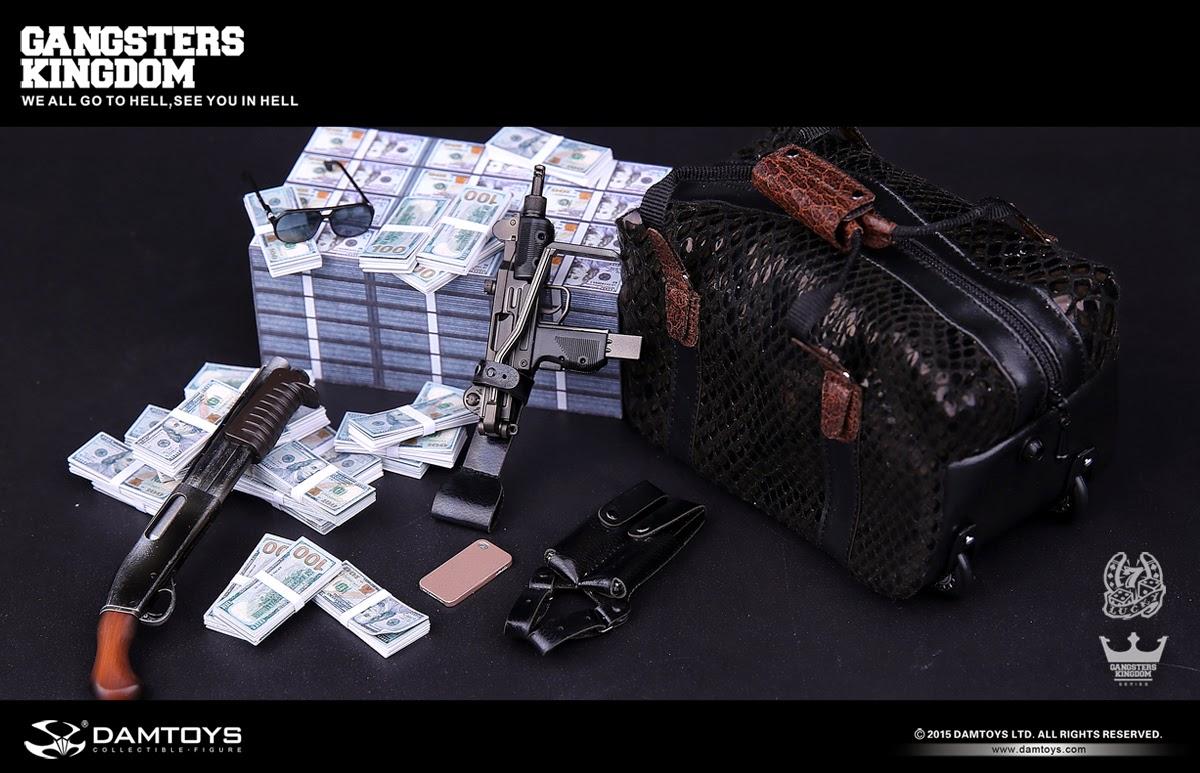 [DAMTOYS] Gangsters Kingdom: Spade 7 (NO.GK009) Da7