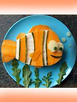 сандвич за деца рибка