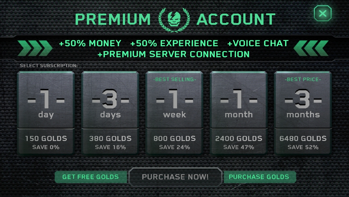 Shadowgun Deadzone Free One Month Membership
