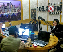 Narasumber Talk Show for Radio 103.4 DFM