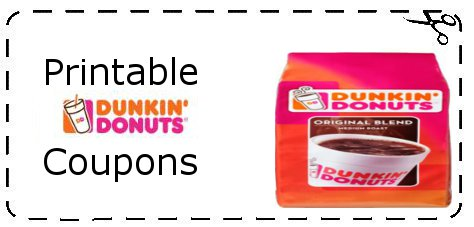 Dunkin donuts donut coupons
