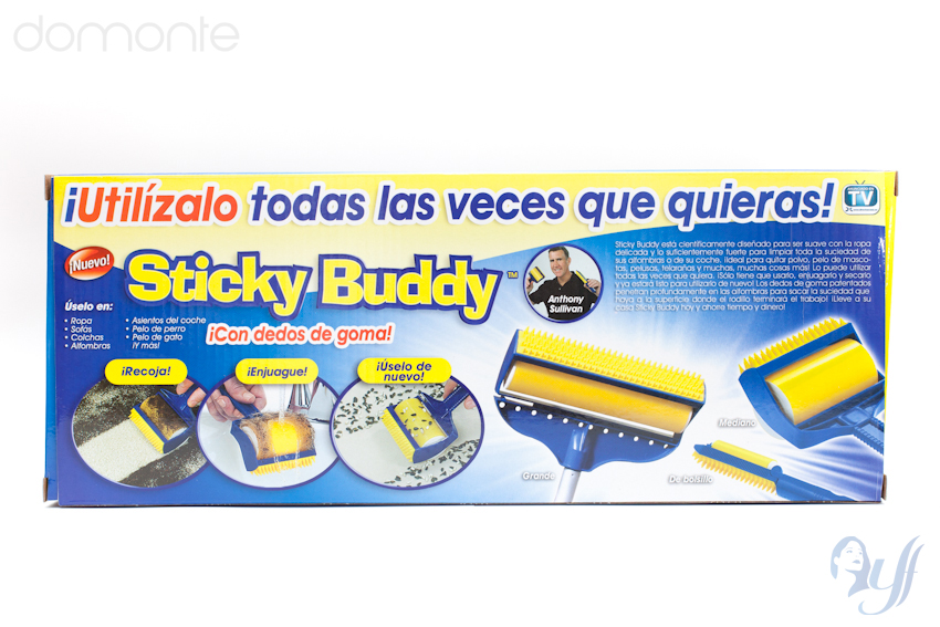 how to clean the sticky buddy