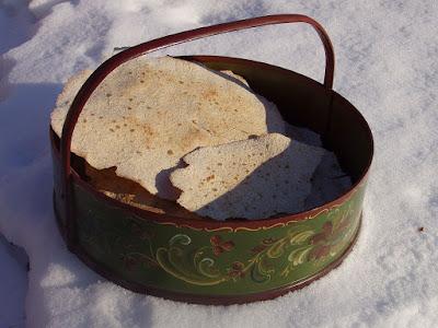 pain sans levain nordique, plat, au seigle, blé et orge, lactosérum
