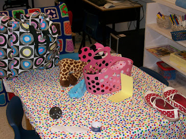 Dot Day Table for Show and Tell