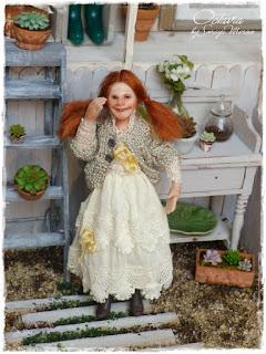 Bambola di Soraya Merino in scala 1:12