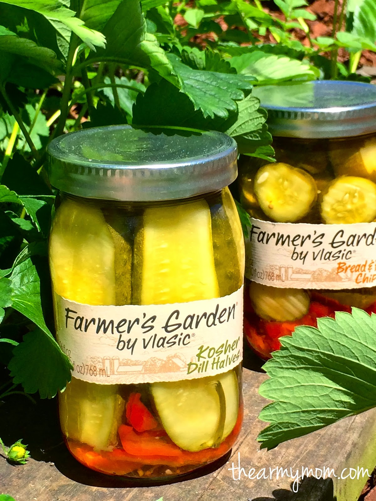 From captain 39 s daughter to army mom it 39 s summertime time for farmer 39 s garden pickles by vlasic for Vlasic farmer s garden pickles
