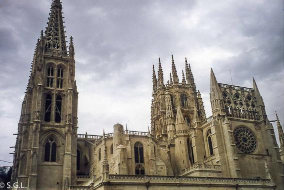 La catedral de Burgos. Visitando Castilla y Leon