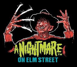 A Nightmare On Elm Street Title Screen
