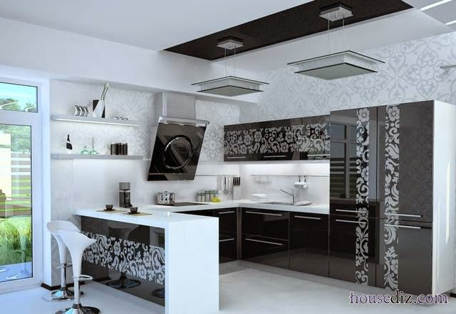 Attractive New Trends For False Ceiling Designs For Kitchen CeilingsNew  Trends For False Ceiling Designs For