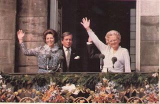 La Reina Beatriz I sigue con la tradición de sus predecesoras