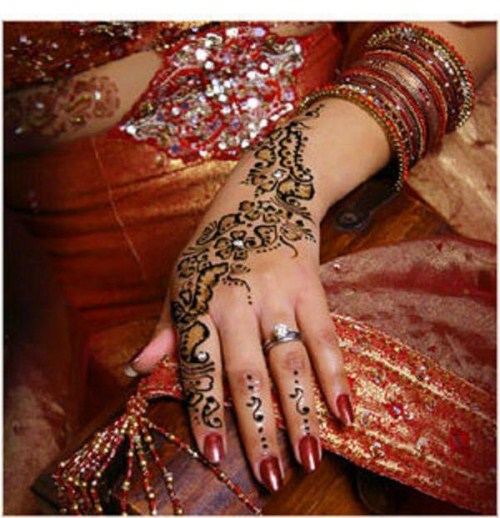 Indian Henna Mehndi Tattoos