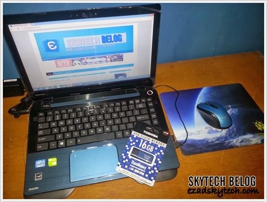 Toshiba Satellite L40-AS109XB Serba Biru Menjadi Pilihan