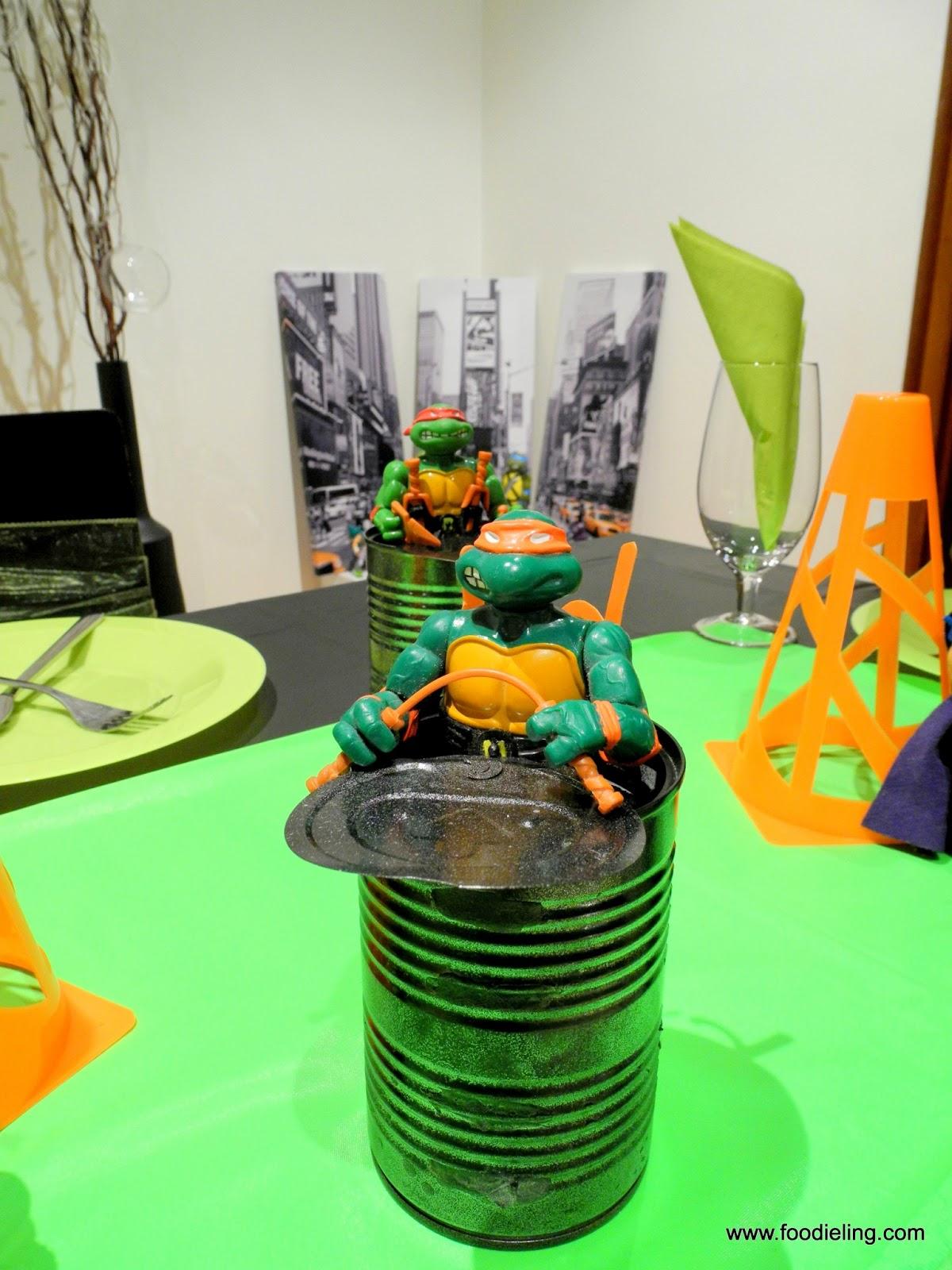 Foodie Ling Crust Dinner Party Cowabunga Ninja Turtles