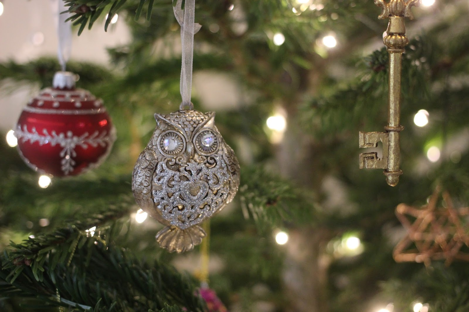 Owls, Keyu0027s, Santa Claus And Even Dachshunds Are Amongst The Decorations  Which I Purchased From John Lewis This Year. Christmas Tree Decorations  That Have A ...