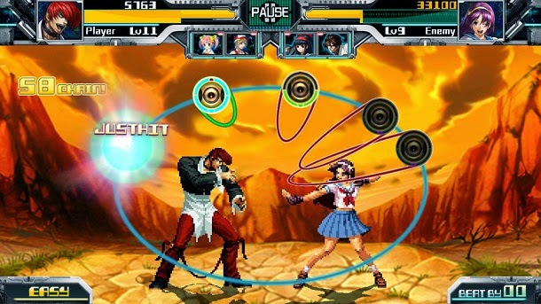 Conheça The Rhythm of Fighters, o King of Fighters musical