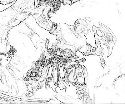 Diablo 3 Barbarian Holy War Yumiko Fujiwara