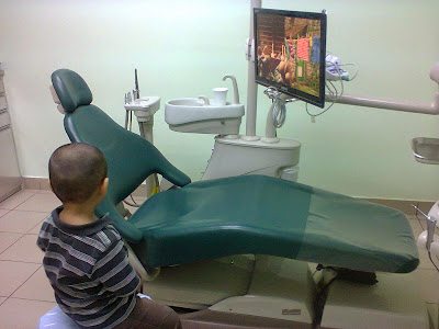 Lil' Iman 1st time pigi klinik gigi