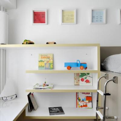Dormitorio para Niños amantes de los Coches