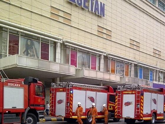 Gambar restoran chinoz klcc terbakar for Mural untuk taska