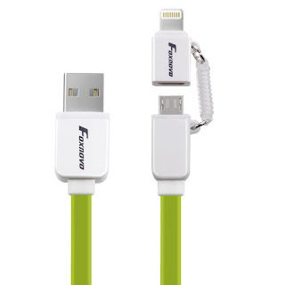 2-in-1 Lightning Charging Cable