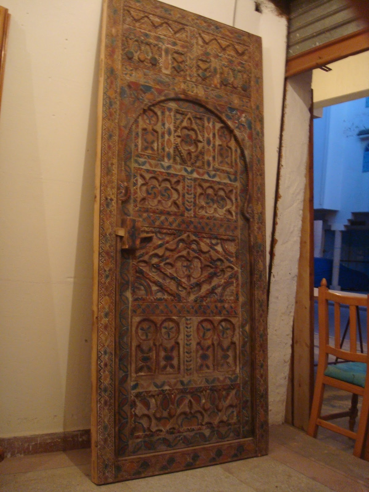 Old Moroccan Door - Old Moroccan Door Moroccan Antique Doors