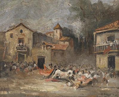 Corrida de toros de 1868 de Eugenio Lucas Velásquez