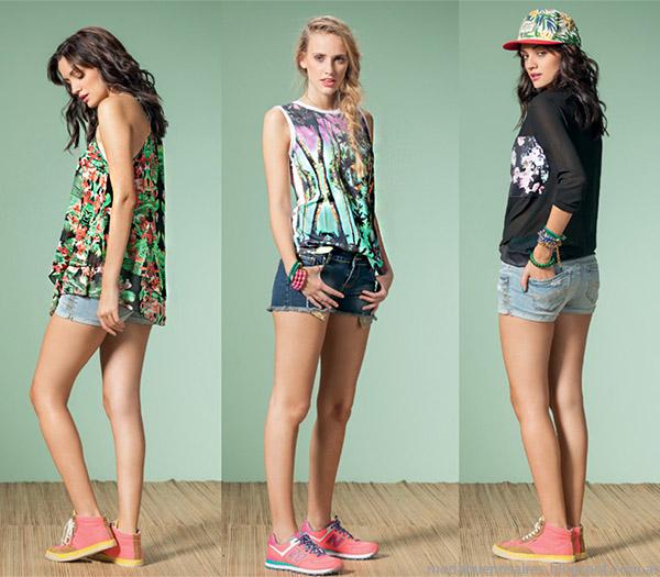 Núcleo Moda primavera verano 2015 ropa de mujer.