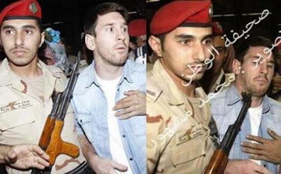 Messi Hampir Kena Tembak Di Arab Saudi?