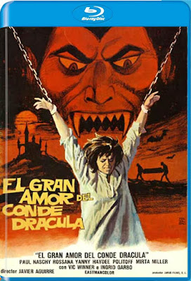 El Gran Amor Del Conde Drácula 1972 BD50 Spanish
