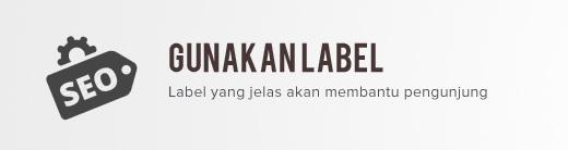 Gunakan Label