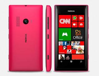 Spesifikasi dan Harga Nokia Lumia 505 WP 7.8