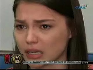 Rhian Ramos Interview on 24 Oras