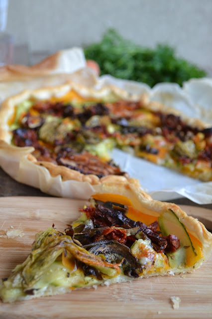 ricetta tarte estiva di verdure