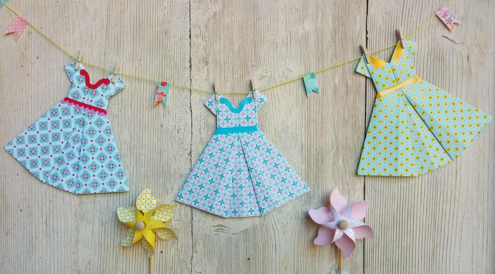 ella amp nestas little room summer gift party origami