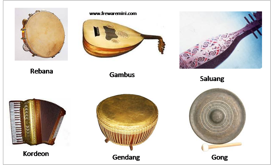 Alat musik tradisional Kepulauan Bangka Belitung [Babel] : Dambus ...